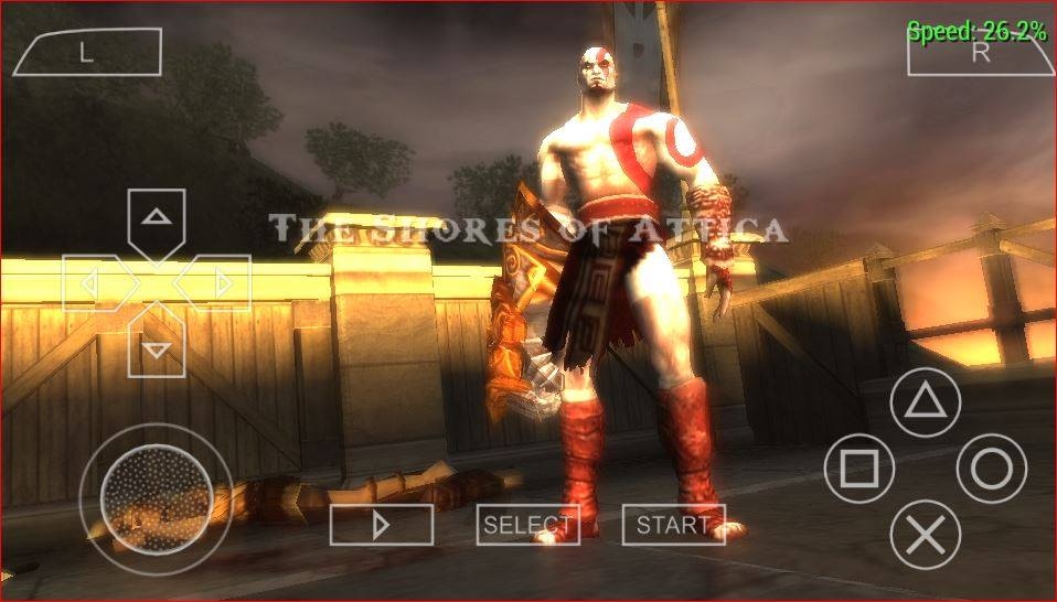 Game God of War: Chains of Olympus – Việt Hóa – PPSSPP – PSP